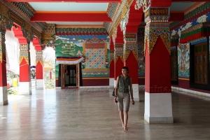 Храм имени Махатмы Ганди.