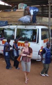Автовокзал в Яунде