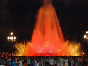 Поющие фонтаны