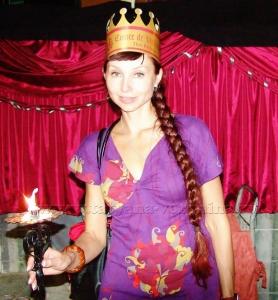 Картонная корона)