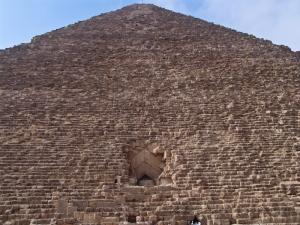 Вход в пирамиду